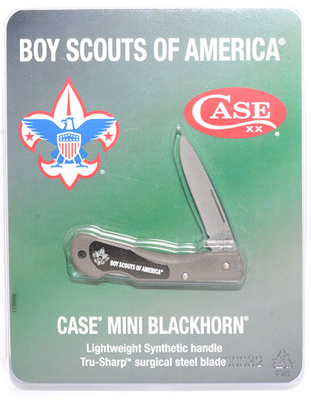 Case Boy Scouts of America Mini Blackhorn Knife
