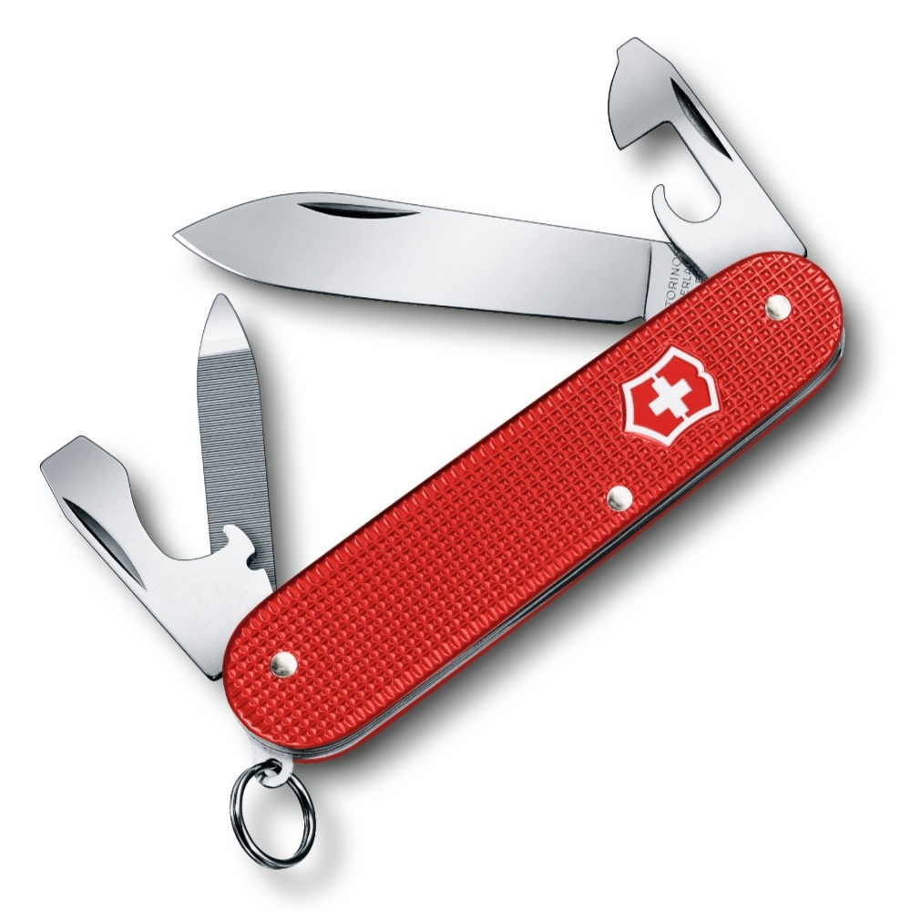 Victorinox Swiss Army Berry Red Alox Cadet Knife