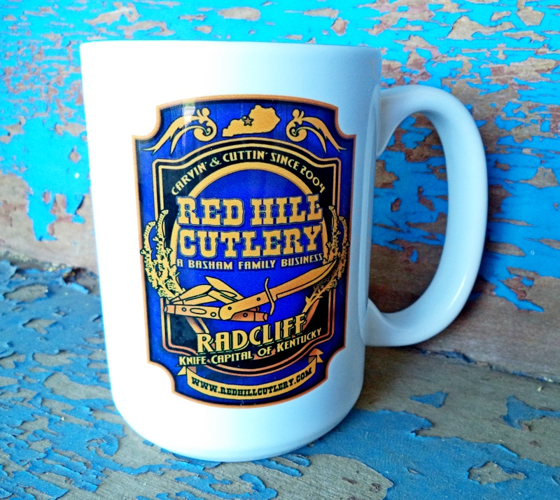 Knife Capital of Kentucky White 15oz Mug