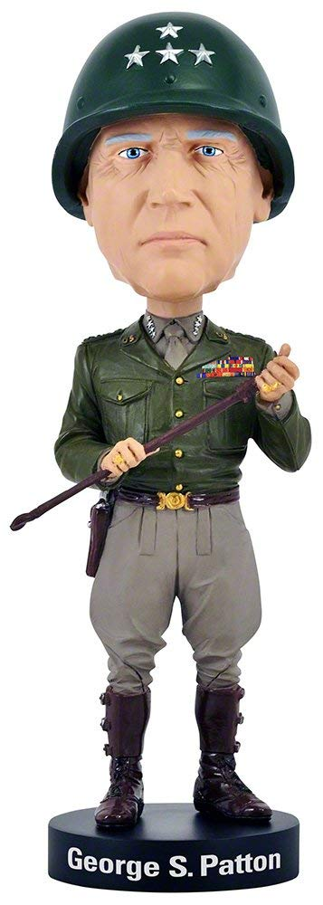 General George S. Patton Bobblehead