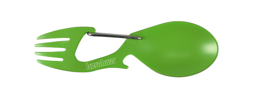 Kershaw Green Ration Spoon-Fork-Tool