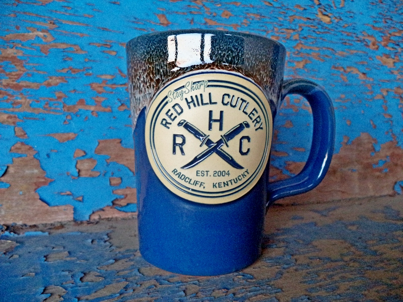 Red Hill Custom Stoneware Blue Glazed Mug