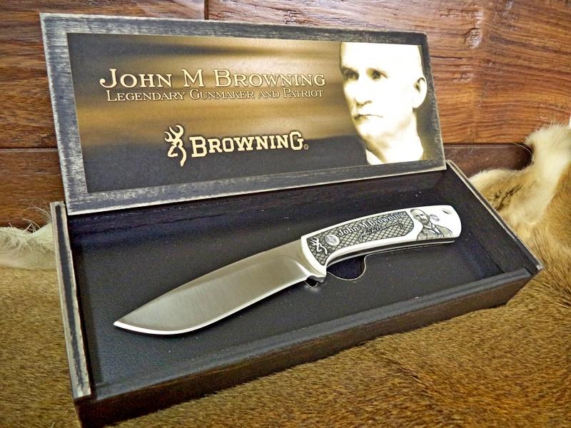 John M. Browning Commemorative Hunter Knife