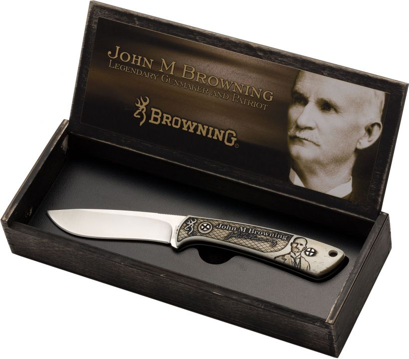 John M. Browning Commemorative Hunter Knife
