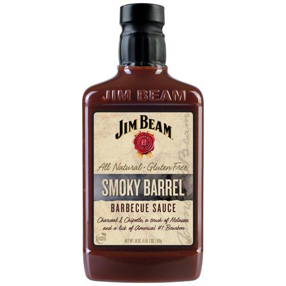 Jim Beam Smoky Barrel Bourbon Barbecue Sauce 18oz