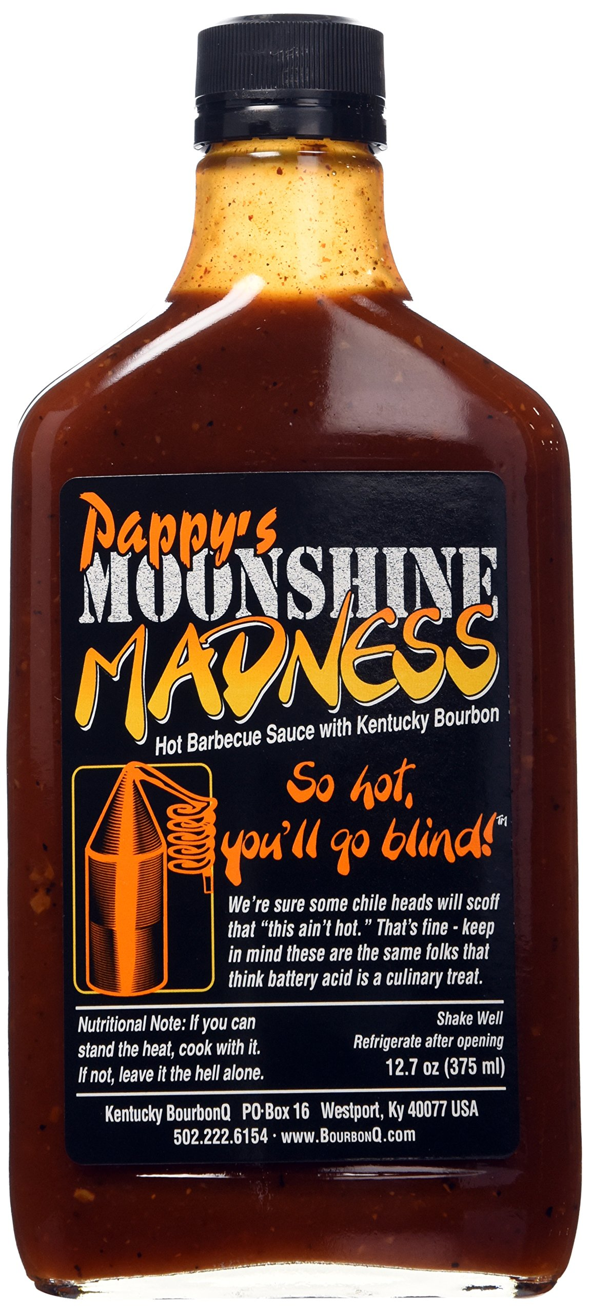 Pappy's Moonshine Madness Barbecue Sauce 12.7oz