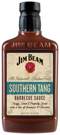 Jim Beam Southern Tang Bourbon Barbecue Sauce 18oz