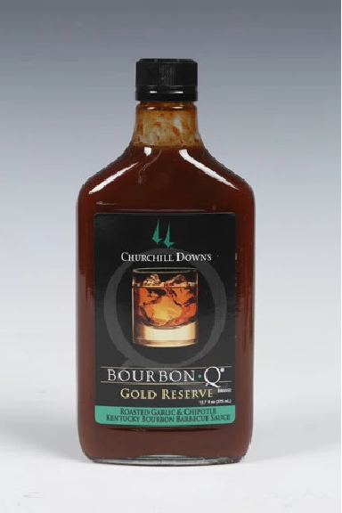 Bourbon Q Gold Reserve Barbecue Sauce 12.7oz