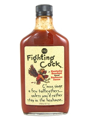 Pappy's Fighting Cock Bourbon Barbecue Sauce 12.7oz