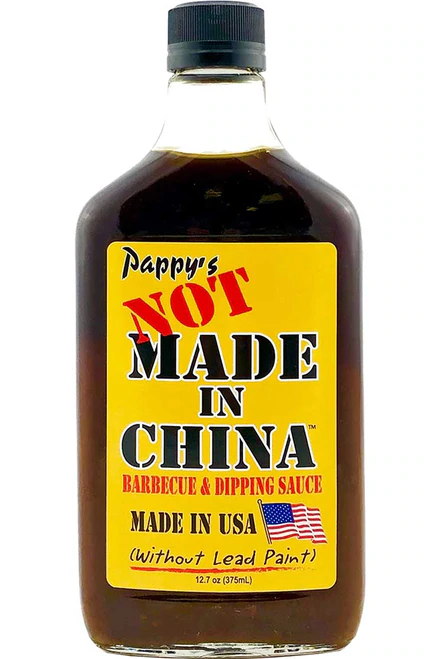 Pappy's NOT MADE IN CHINA Barbecue Sauce 12.7oz