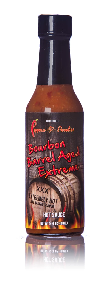 Bourbon Barrel Aged Extreme Hot Sauce 5oz