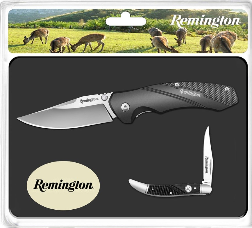 Remington Special Edition Two Knife Gift Set in Tin