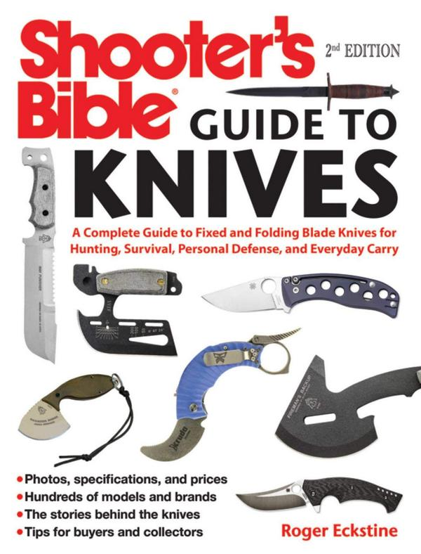 Shooter's Bible Guide to Knives Book 2nd Edition
