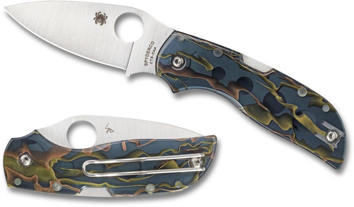 Spyderco Raffir Noble Handle Chaparral Knife