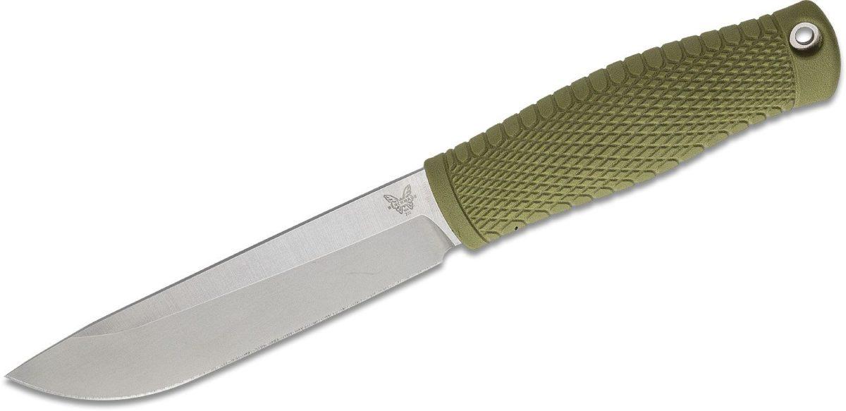 Benchmade Ranger Green 202 Leuku Bushcraft