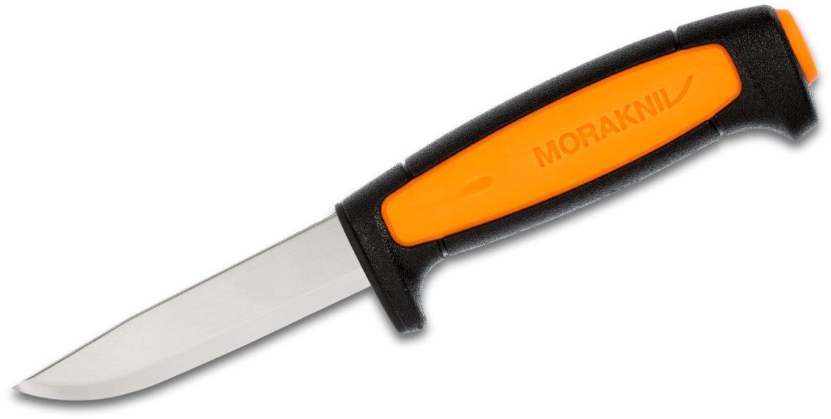 MoraKniv Mora of Sweden Black Orange Basic Knife