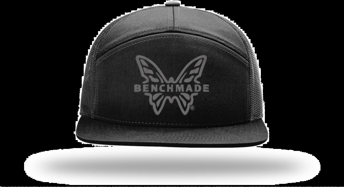 Benchmade Black 7-Panel Favorite Hat