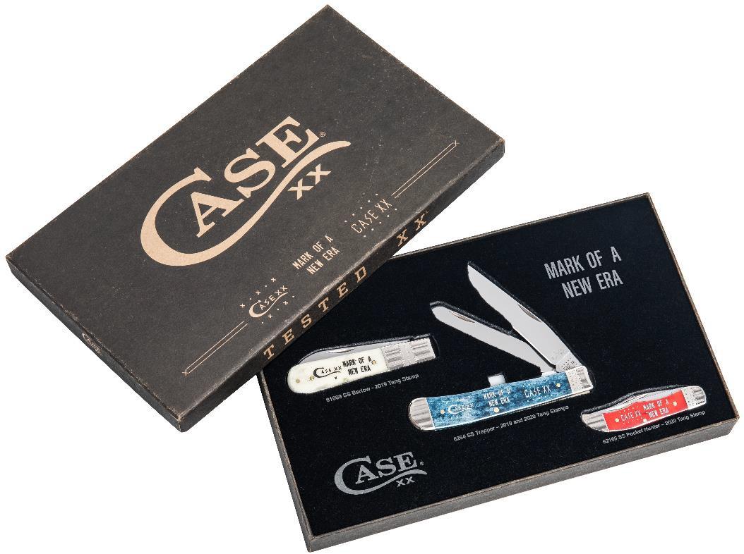 Case 2020 Tang Stamp Transition Set of 3 Knives