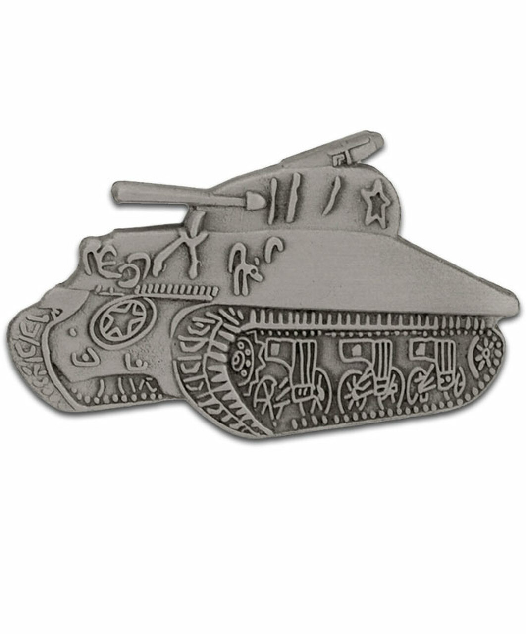 Sherman Tank Lapel Pin