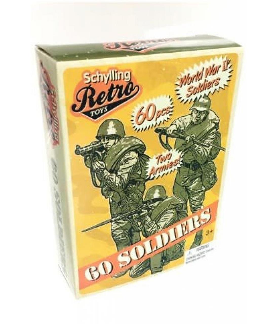 Retro Mini Toy Soldiers (60 Count)