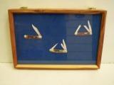 Cedar Display Cases